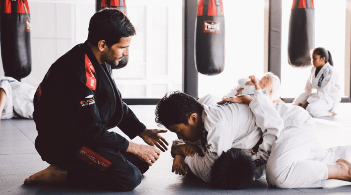 How to deal with some jiu-jitsu positions for beginners