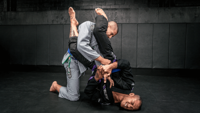 Jiu-Jitsu Improving Give To Receive