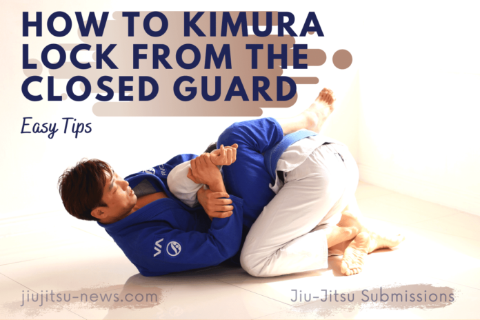 How to kimura lock from the closed guard