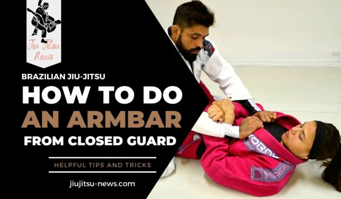 how to do an armbar from closed guard