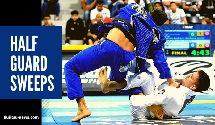 list of half guard sweeps you should know