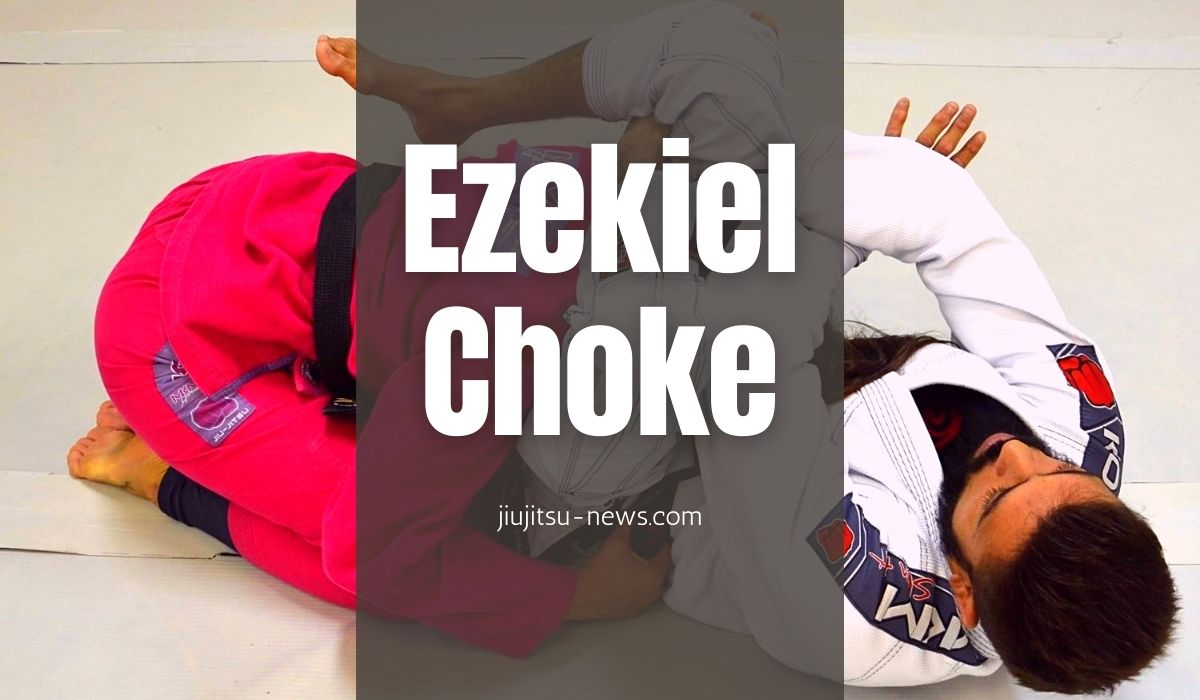 chokes from inside the guard