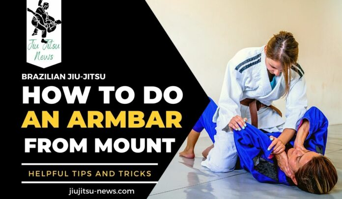 how to do an armbar from mount