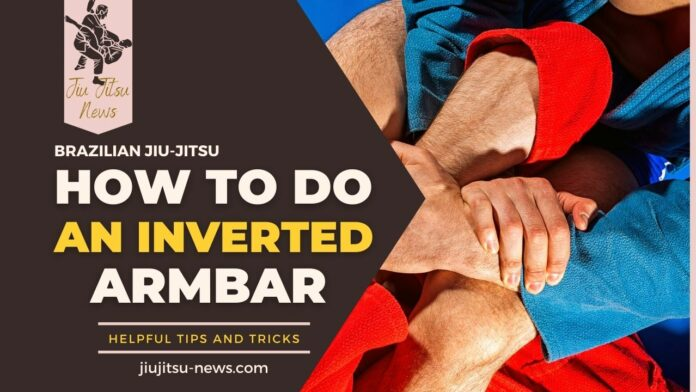 how to do the inverted armbar
